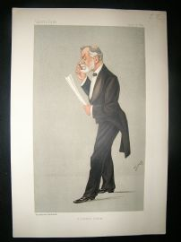 Vanity Fair Print: 1892 Robert Brudnell Cater, Doctor